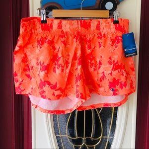 Tangerine XL bright Champion running shorts